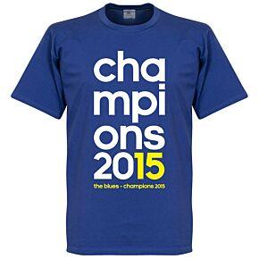 Champions 2015 Tee - Royal