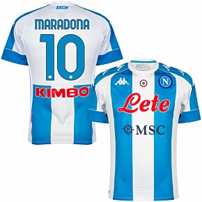 2021 Napoli 4th Pro Shirt + Maradona 10 (Official Printing) *READY TO PUBLISH*