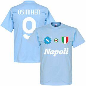 Napoli Careca 9 Team Tee - Sky