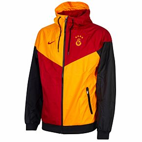 20-21 Galatasaray Authentic Windrunner Jacket - Orange/Red
