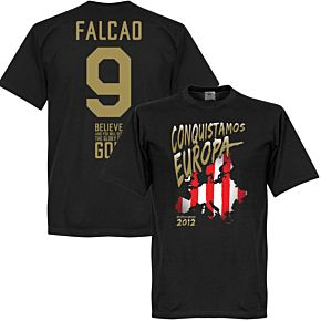 2012 Atletico European Cup Winnners Tee