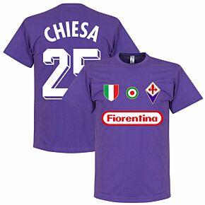 Fiorentina Chisea 25 Team T-Shirt - Purple