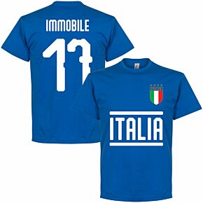Italy Immobile 17 KIDS T-shirt - Royal Blue