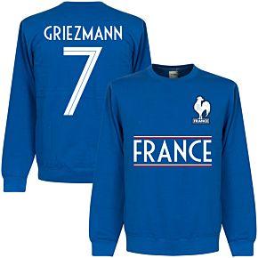 France Griezmann 7 Team  Sweatshirt - Royal