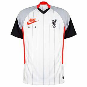 2021 Liverpool Breathe Airmax Shirt - White