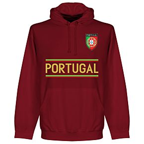 Portugal Team Hoodie - Maroon