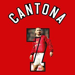 Cantona 7 (Gallery Breakout Style) - 96-97 Man Utd Home