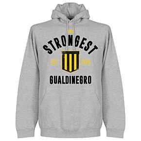 The Strongest Established Hoodie - Grey