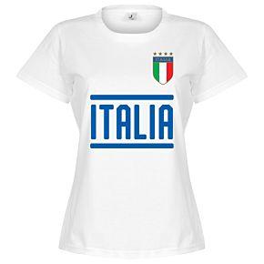 Italy Team Womens Tee - White
