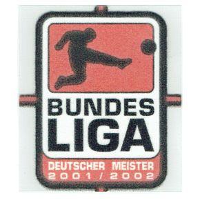 02-03 Bundesliga Meister 01-02 Patch