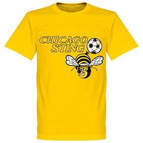 Chicago Sting T-Shirt - Yellow