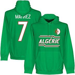 Algeria Mahrez 7 Team Hoodie - Green
