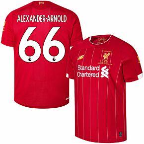 19-20 Liverpool Home P/L Champions Home Shirt + Alexander-Arnold 66