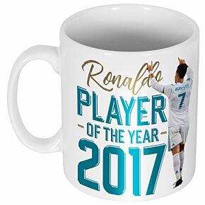 Ronaldo 2017 Player of the Year Mug