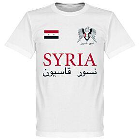 Syria National Tee - White
