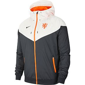 20-21 Holland NSW Authentic Windrunner Jacket - White/Black