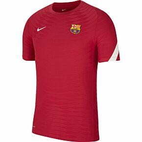 21-22 Barcelona Dri-Fit ADV Elite Training Shirt - Red