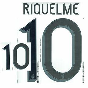 Riquelme 10 (Official Printing) - 21-22 Argentina Home