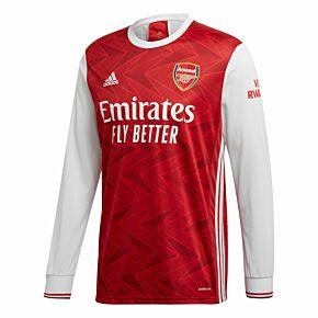20-21 Arsenal Home L/S Shirt