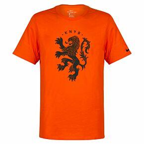 18-19 Holland Logo T-Shirt - Orange