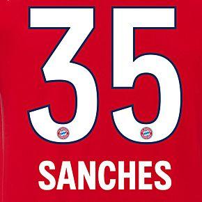 Sanchez 35 (Official Printing)