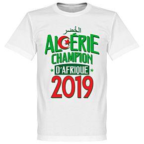 Algeria Champions of Africa Tee - White