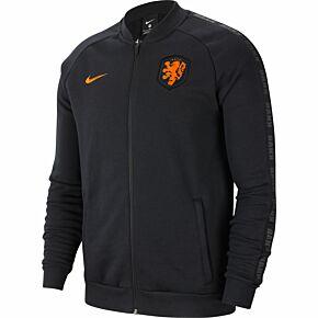 20-21 Holland GFA Fleece Track Jacket - Black