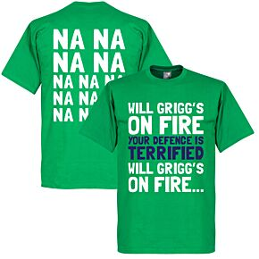 Will Grigg's on Fire Tee - Green