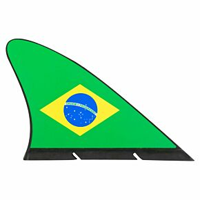 Brazil Flag Fan Fin