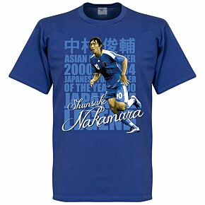 Nakamura Legend Tee - Blue