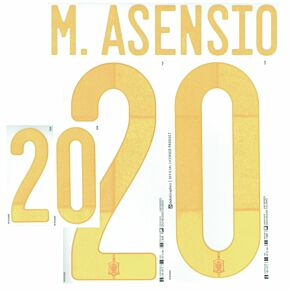 M.Asensio 20 (Official Printing)