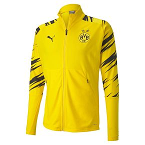 20-21 Borussia Dortmund Stadium Jacket - Yellow/Black