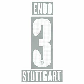 Endo 3 (Official Printing) - 21-22 VFB Stuttgart Away