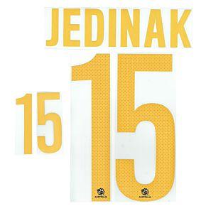 Jedinak 15 - Australia Away Official Name & Number 2014 / 2015