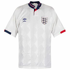 Umbro England 1987-1990 Home Shirt S/S - Used Condition (Great)