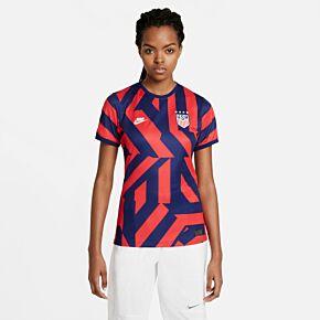 20-21 USA Womens Away Shirt