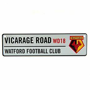 Watford Window Street Sign (26 x 7cm Approx)