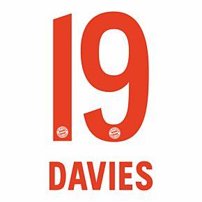 Davies 19 (Official Printing) - 21-21 Bayern Munich Away