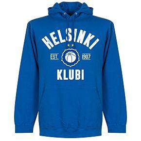 Helsinki Established Hoodie - Royal Blue