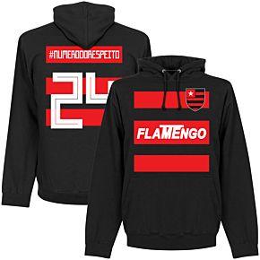 flamengo #NumeroDoRespeito 24 Team Hoodie - Black