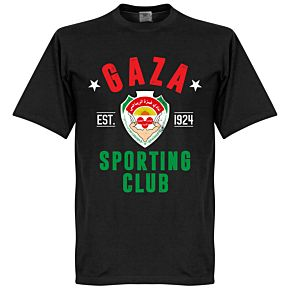 Gaza Established Tee - Black
