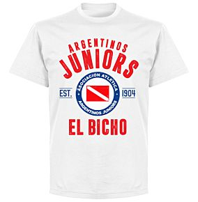 Argentinos Juniors Established T-Shirt - White
