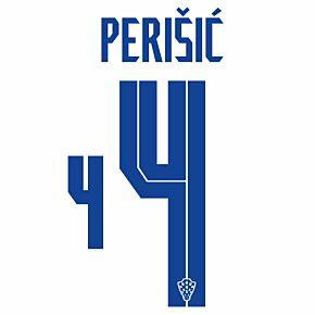 Perišić 4 (Official Printing) - 20-21 Croatia Home