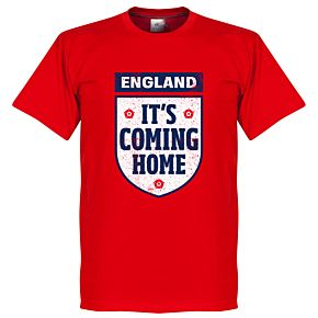 It's Coming Home England KIDS Tee - Red