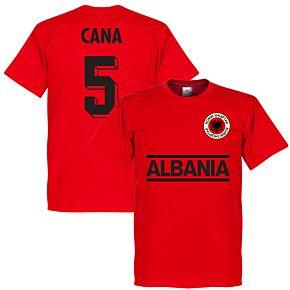 Albania Cana 5 Tee - Red