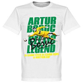 Artur Boruc Legend Tee White