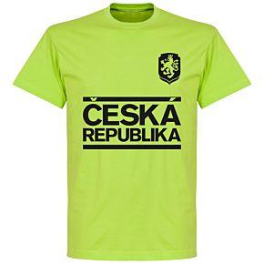 Czech Republic Team T-shirt - Apple Green