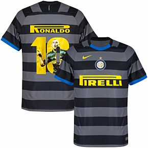 20-21 Inter Milan 3rd Shirt + Ronaldo 10 (Gallery Style Printing)