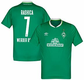 Umbro Werder Bremen Home Rashica 7 Jersey 2019-2020