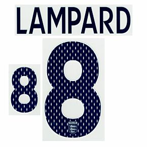 Lampard 8 - 07-09 England Home Lampard Name & Number - Boys